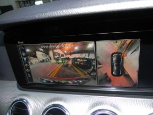 Mercedes camera calibration showing internal camera at STR Service Centre Norwich